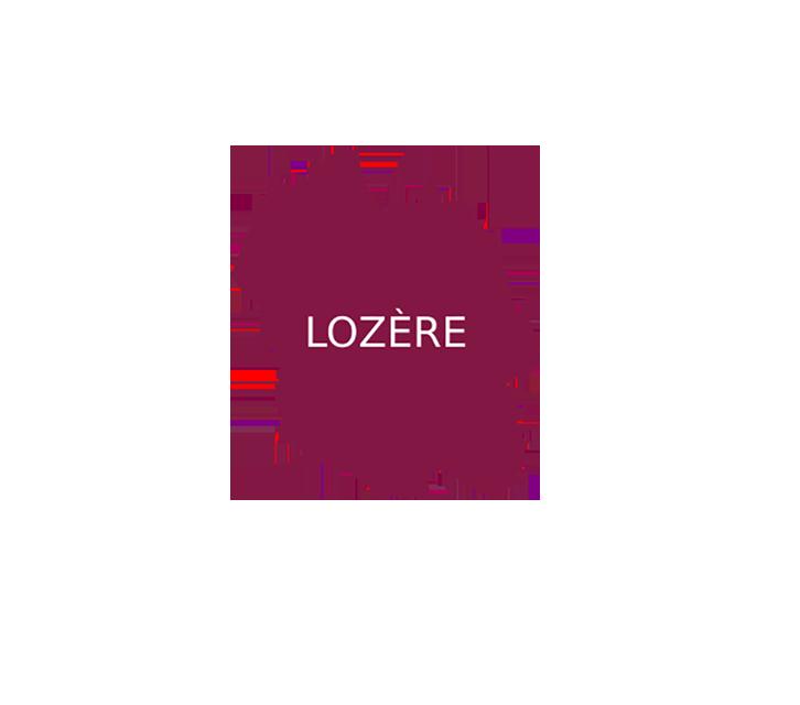 incrustation département de la Lozère