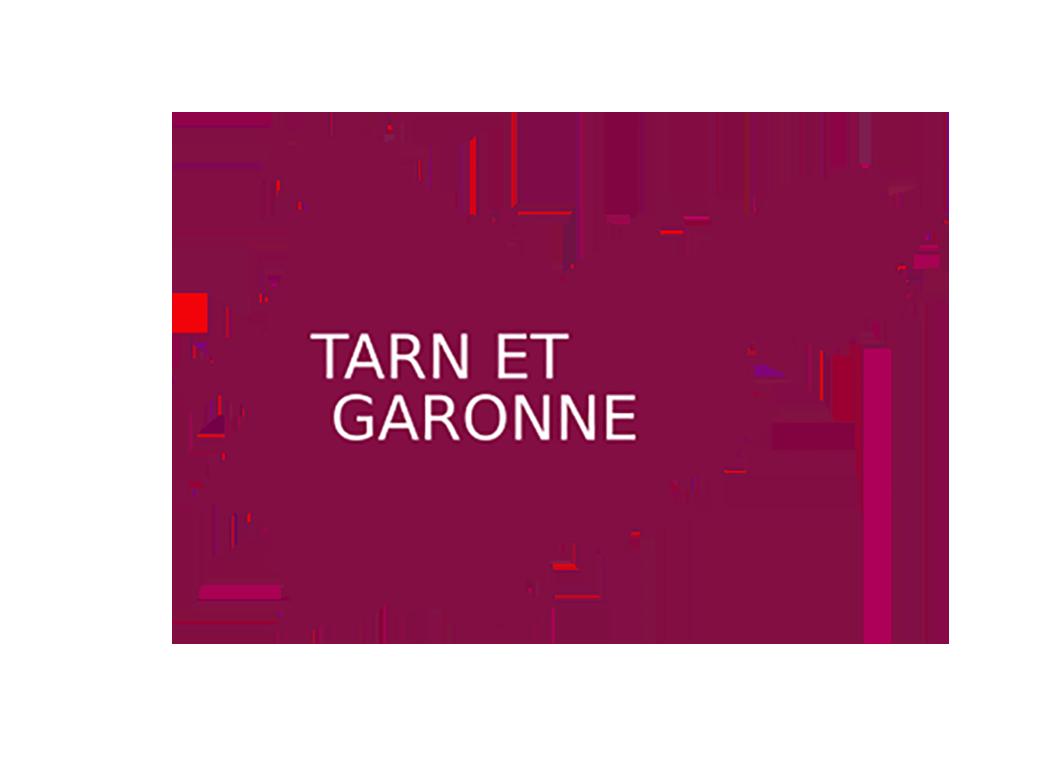 incrustation département du Tarn et garonne